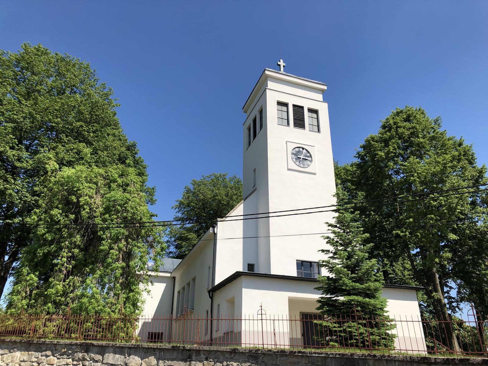 kostel po rekonstrukci